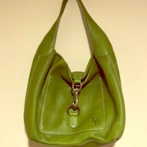 Green Leather Dooney and Burke